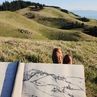 Photo taken at Mt. Tam West Peak by Justin G. on 2/14/2018
