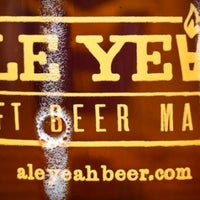 Photo taken at Ale Yeah! Craft Beer Market by Ale Yeah! Craft Beer Market on 10/31/2013