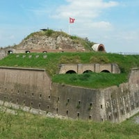 Photo taken at Fort Sint Pieter by Ruben M. on 8/15/2016