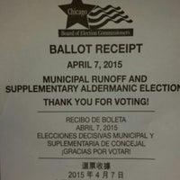 "Photo taken at Voting by Wytedgurie ""Terri"" M. on 4/7/2015"