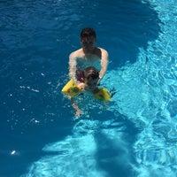 Photo taken at Gloria Verde Resort pool by Elif Ş. on 7/21/2015