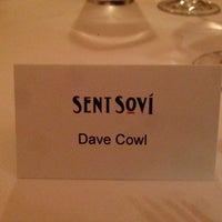 Photo taken at Restaurant Sent Sovi by Dave C. on 9/26/2014