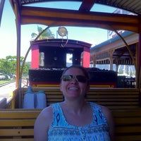 Photo taken at Port Douglas Marina Railway Station by Dave C. on 4/27/2014