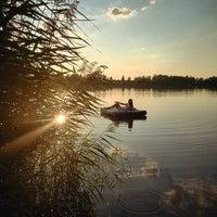 Photo taken at Климовские карьеры by Dariia G. on 8/21/2014