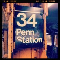 Photo taken at MTA Subway - 34th St/Penn Station (A/C/E) by Daniel C. on 2/22/2013