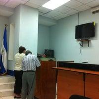 Photo taken at Dirección General de Migración y Extrangería (DGME) by Carlos V. on 10/21/2012