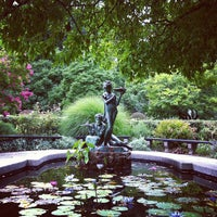 Photo taken at Conservatory Garden by Steven B. on 8/19/2013