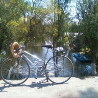 Photo taken at Puente de Urrutia by Valeria T. on 3/6/2016