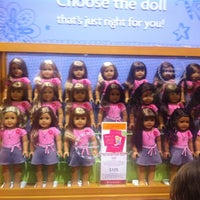 Photo taken at American Girl Place by Nondas S. on 12/2/2012