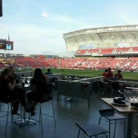 Photo taken at Rio Tinto Stadium by Andy J. on 9/22/2012