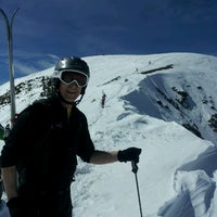Photo taken at Mt. Baldy by Andy J. on 3/14/2013