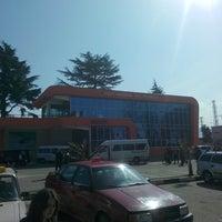 Photo taken at Kobuleti Railway Station   ქობულეთის რკინიგზის სადგური by . ?. on 3/3/2014