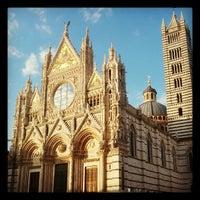 Photo taken at Duomo di Siena by Jack L. on 9/16/2012
