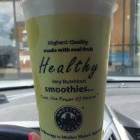 Photo taken at The Smoothie Factory by Jamie L. on 6/18/2014