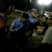 Photo taken at Lapangan tugu pelaihari by Fajar M. on 11/2/2013