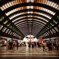 Photo taken at Milano Centrale Railway Station by Andrea P. on 7/3/2013