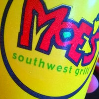 Photo taken at Moe's Southwest Grill by Tracy K. on 7/1/2014