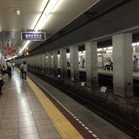 Photo taken at Tsukiji Station (H10) by Hideaki I. on 9/11/2013