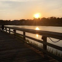 Photo taken at Murrell's Inlet Marshwalk by Miel S. on 6/23/2016
