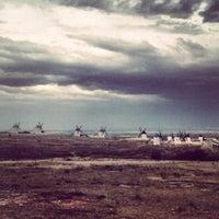 Photo taken at Sierra de los Molinos by Mayte on 6/10/2014