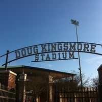 Photo taken at Doug Kingsmore Stadium by Aaron J. on 3/16/2013