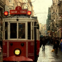 Photo taken at İstiklal Avenue by Eda G. on 11/1/2013