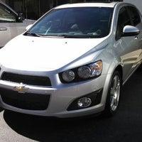 Photo taken at Hendrick Chevrolet by giullietta d. on 9/29/2013
