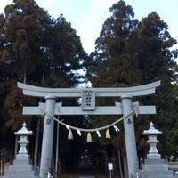 Photo taken at 小村神社 by K A Z U on 1/2/2013