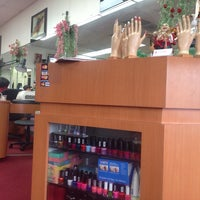 Photo taken at US Nails by Tanya H. on 1/25/2014