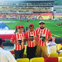 Photo taken at Estadio Morelos VIP by shaq s. on 10/29/2016