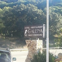 Photo taken at Galena Mas Comangau Hotel Begur by Elisenda on 12/6/2013