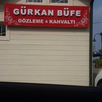 Photo taken at Gürkan Cafe by Ayşe Ç. on 5/3/2014