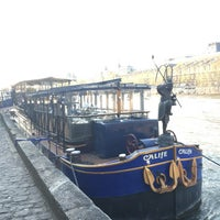 Le Calife Boat Or Ferry In Paris
