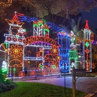 photo taken at snug harbor christmas street of lights by waterfront p on 12