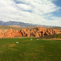 Photo taken at Sky Mountain Golf Course by Tony N. on 4/5/2013