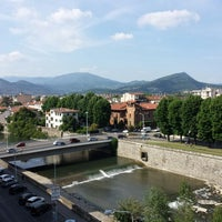 Photo taken at Art Hotel Milano by Nađa D. on 5/9/2014