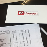 Photo taken at Tv Kayseri by Serhat ö. on 2/20/2017