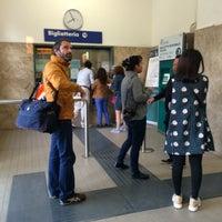 Photo taken at Stazione FS San Bonifacio by Dari E. on 9/26/2014
