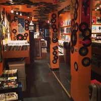 Photo taken at Som Records by Claudia Z. on 12/1/2013