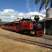 Photo taken at Port Douglas Marina Railway Station by ぽん多 on 9/1/2013