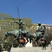 Photo taken at Spanish Square by ぽん多 on 4/23/2013
