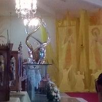 Photo taken at Paróquia Jesus, Maria e José by Pedro Guilherme B. on 12/8/2013