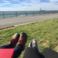 Photo taken at Picnic Point @ Governors Island by Hana K. on 10/28/2017