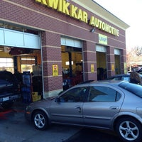 Photo taken at Kwik Kar Automotive by Brian I. on 11/9/2013