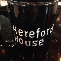 Photo taken at Hereford House by Brian I. on 4/11/2014