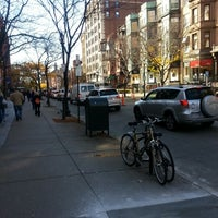Photo taken at Newbury Street by Damien S. on 11/6/2012