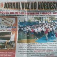 Photo taken at Colégio Barra de Jangada by Erik S. on 3/26/2014