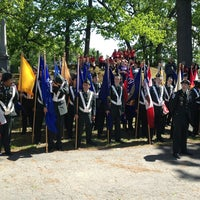 Photo taken at Walnut Grove Cemetery by Matt D. on 5/27/2013