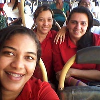 Photo taken at Ônibus Ufpa ver-o-peso by Larissa C. on 11/25/2013