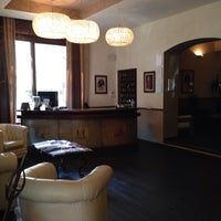 Photo taken at Hotel Ristorante Sant'Eustorgio by Mat T. on 3/28/2014
